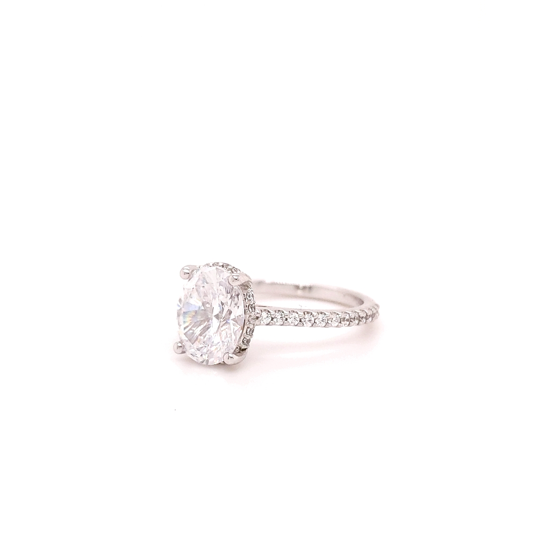 The Fenway Oval Brilliant Engagement Ring Image