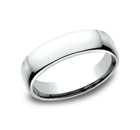 Benchmark Euro Dome 5.5mm Wedding Band Image