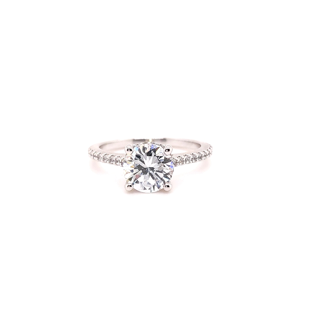 The Fenway Round Brilliant Engagement Ring Image