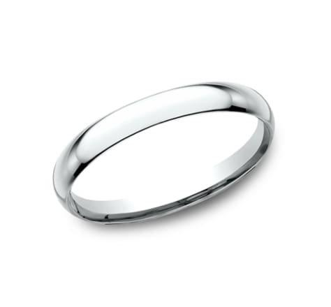 Benchmark Basic Dome 2.0mm Wedding Band Image
