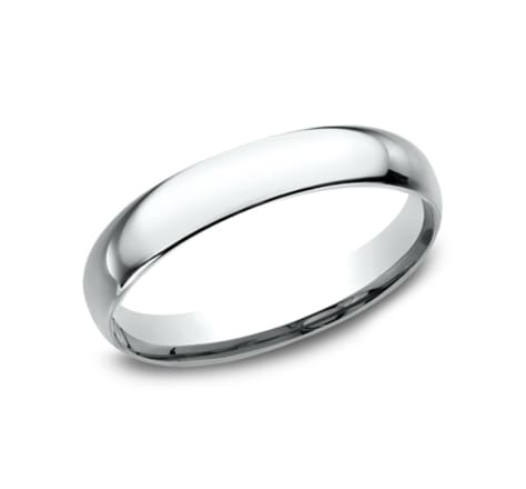 Benchmark Basic Dome 3.0mm Wedding Band Image