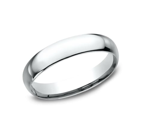 Benchmark Basic Dome 4.0mm Wedding Band Image