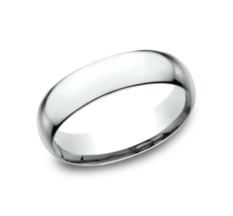Benchmark Basic Dome 6.0mm Wedding Band Image