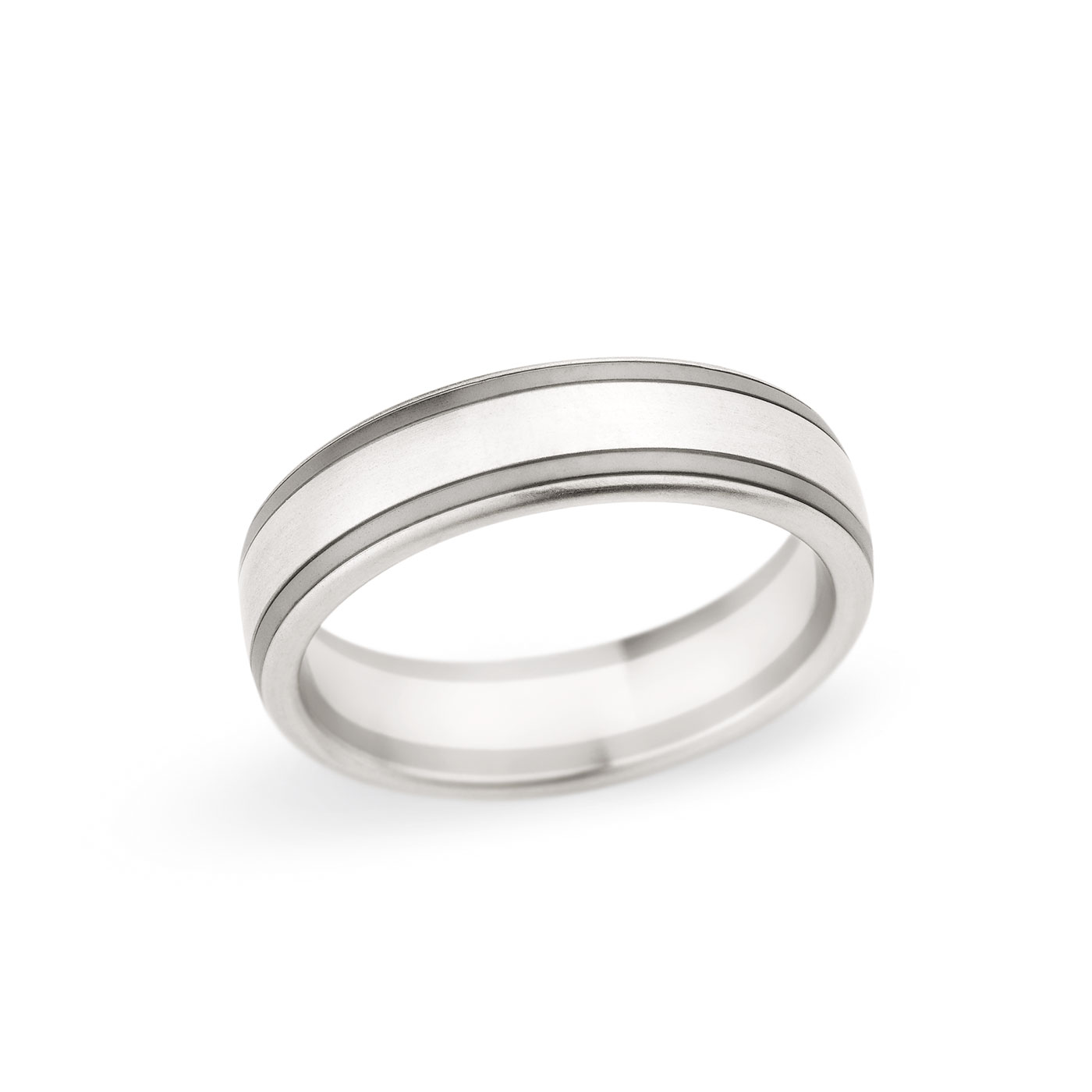 Christian Bauer Traditional Two-Tone 6.0mm Band Image