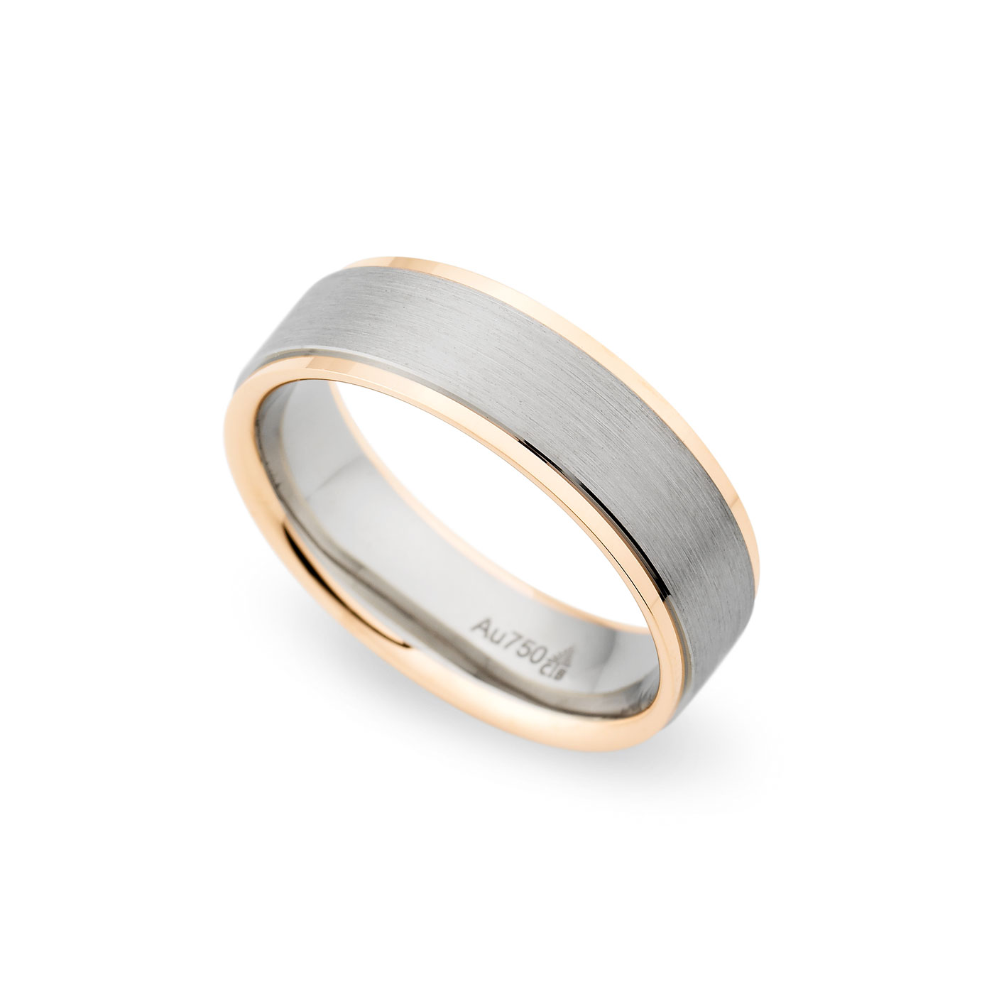 Christian Bauer Traditional Two-Tone 7.0mm Band Image