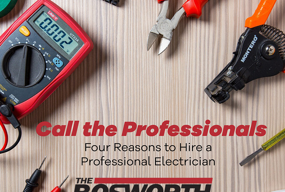 Four Reasons For Hiring A Professional Electrician
