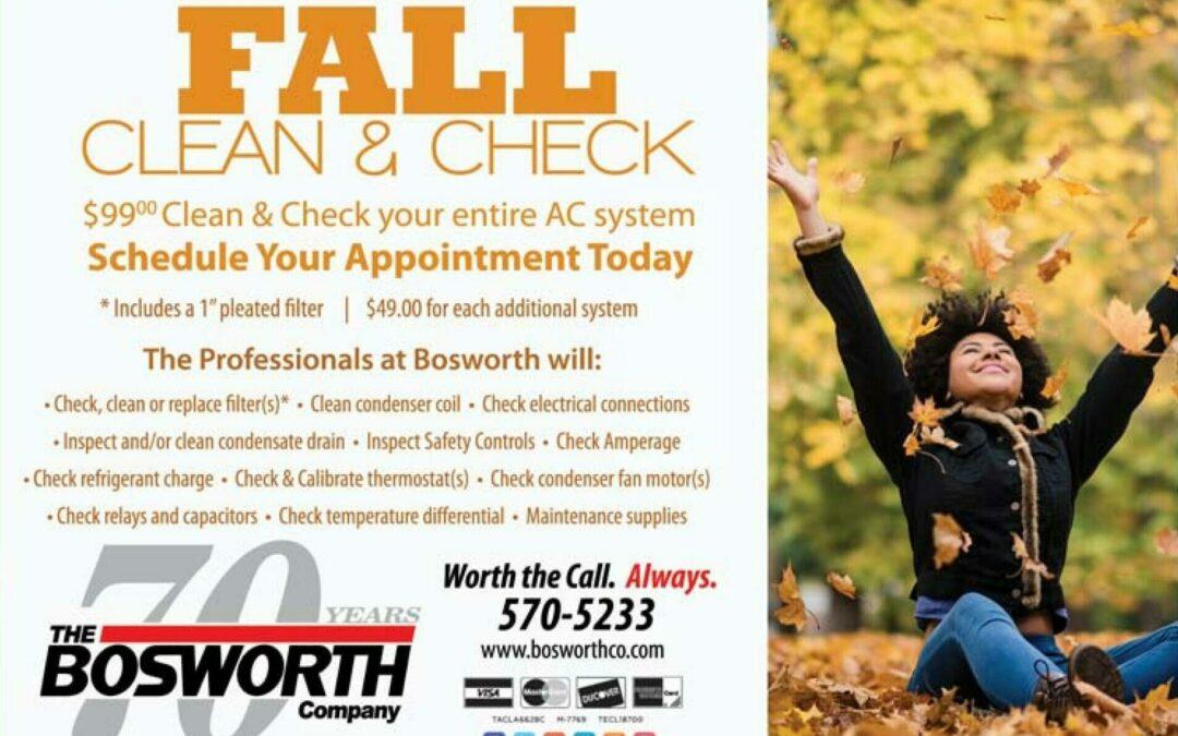 Fall Clean & Check