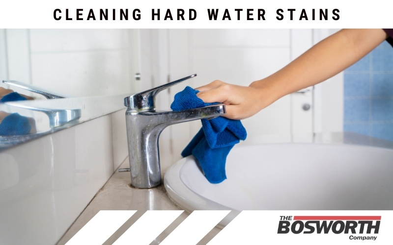 Cleaning Hard Water Stains