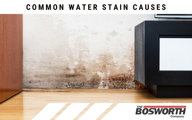 Common Water Stain Causes (And How We Can Help)
