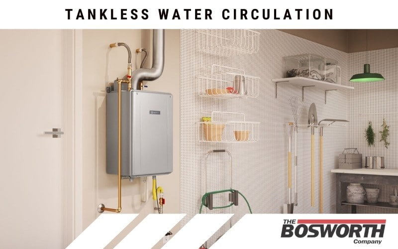 Noritz tankless water heater helping with a home's water circulation