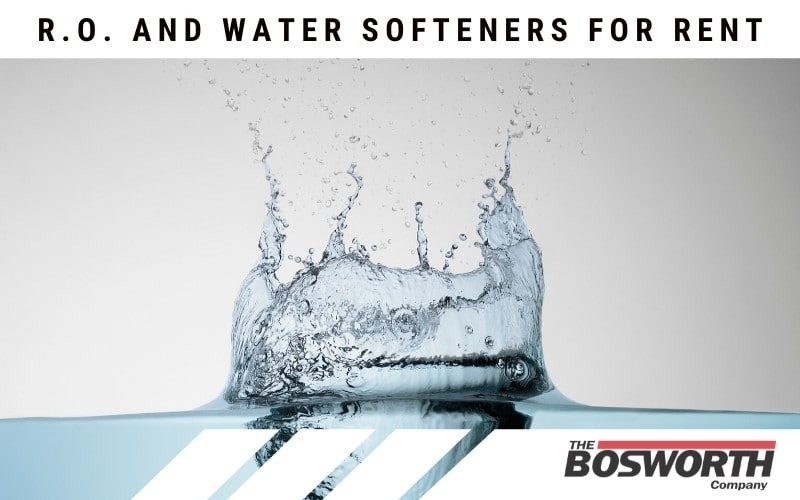 R.O. and Water Softeners For Rent