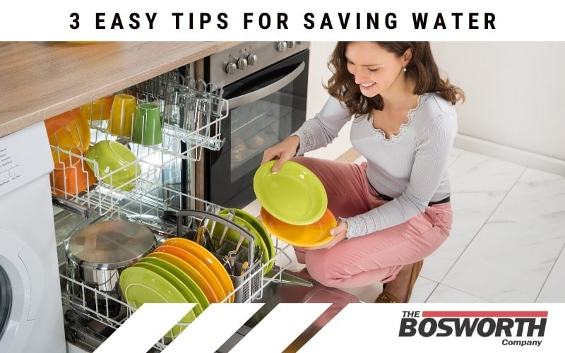 3 Easy Tips For Saving Water