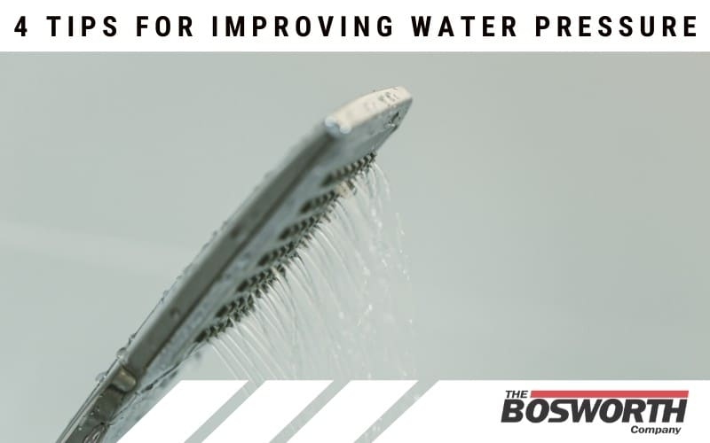 4 Tips For Improving Water Pressure