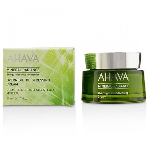 picture of the product, the Ahava mineral radiance de-stressing cream