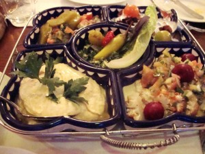 The American Colony Hotel Appetizers at Val's