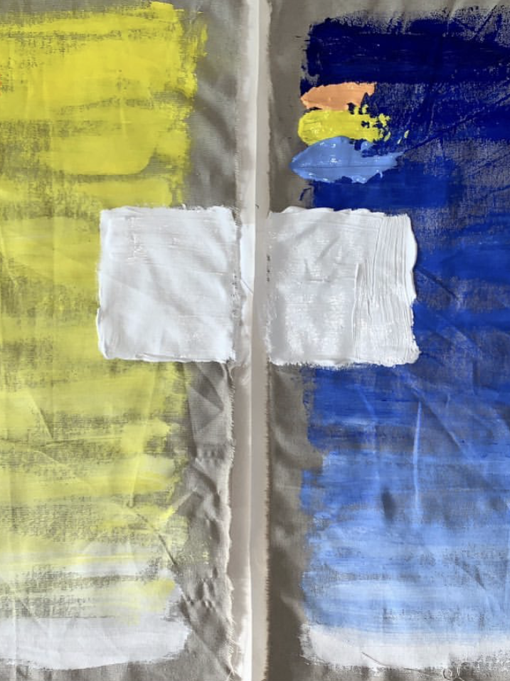 Ben Mazey isolation paintings