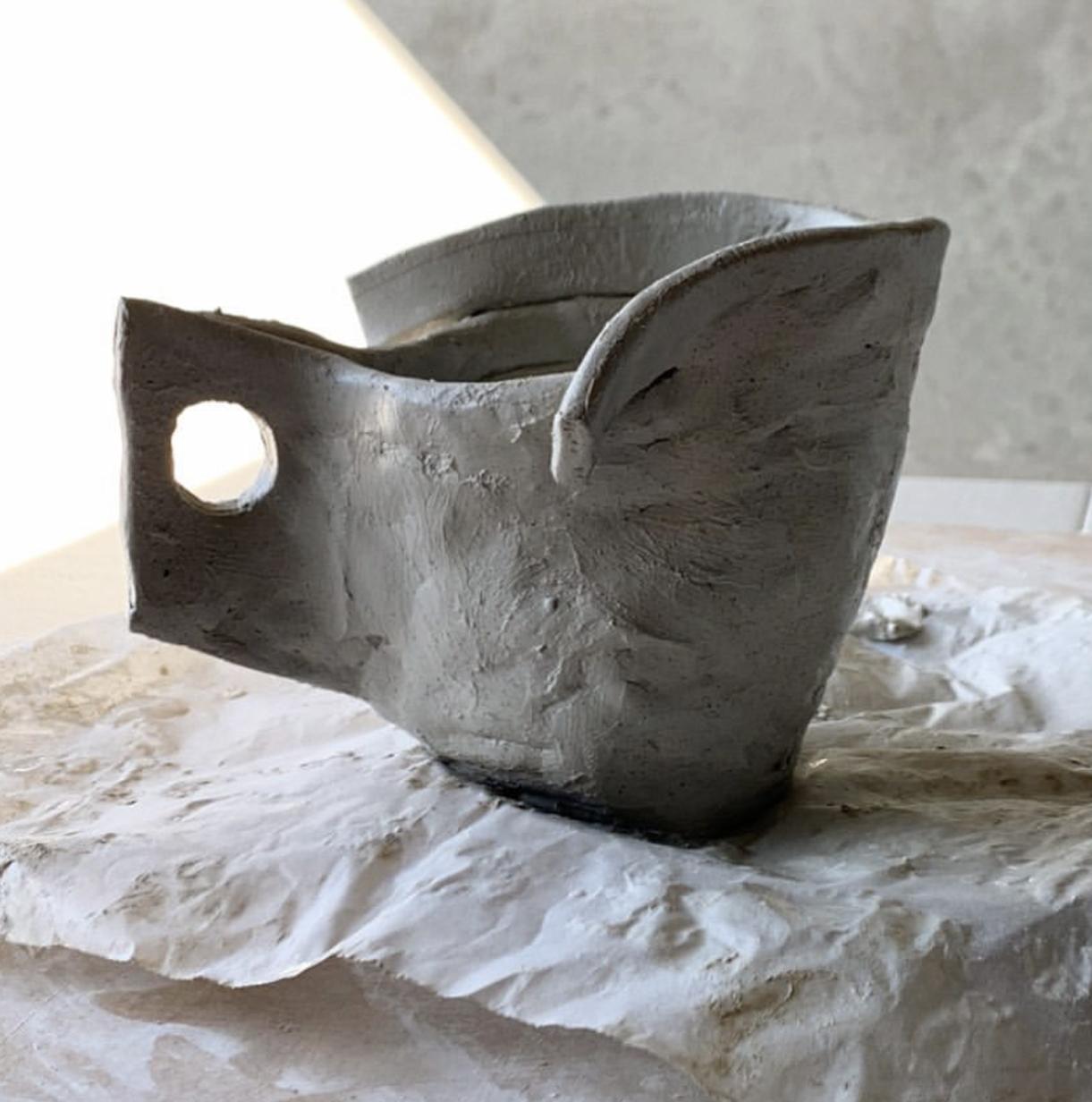Ceramic cup by Ben Mazey