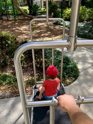 Marriott Royal Palms Playground | Luggage Cart Kids Love | How to travel cheap