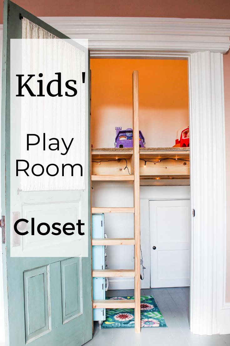 custom kids play room closet