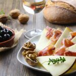 small plates of Mediterranean food