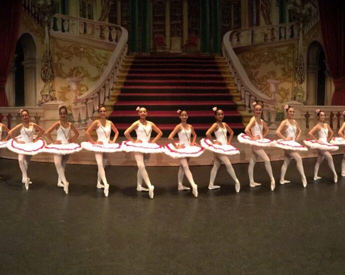 Group of Ballerinas on display