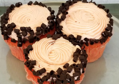 Chocolat Covered Strawberry Cupcake