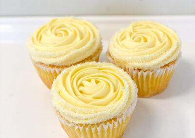 Seasonal Lemon Cupcake