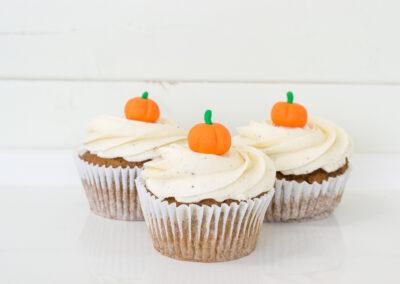 Pumpkin Maple Cupcake