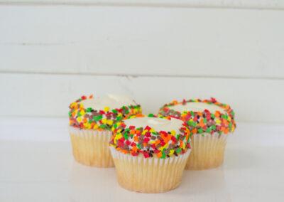Fall Vanilla Cupcake