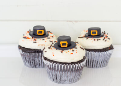 Pilgrim Cupcake