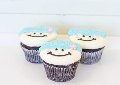 Snowpeople Cupcake