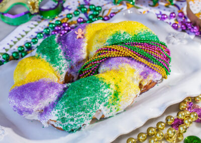 Cinnamon King Cake