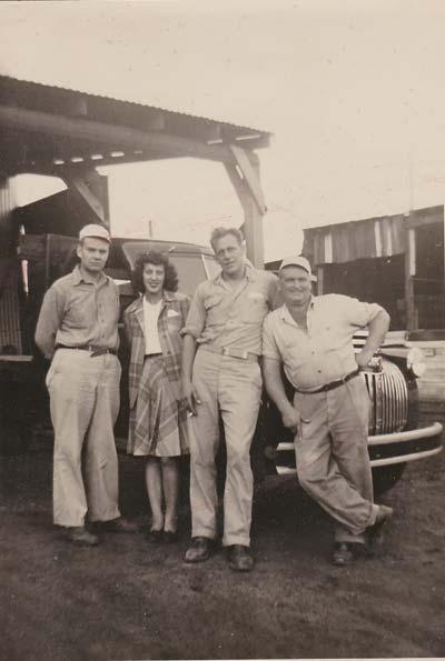Harold, Margaret, Sid, Leon