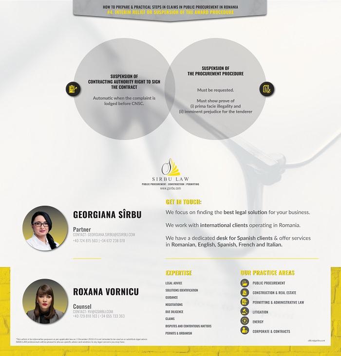 Claims & remedies in Public procurement in Romania #4