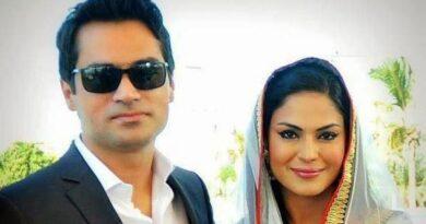 سابق شوہر کا وینا ملک کو 50 کروڑ روپے ہرجانے کا نوٹس