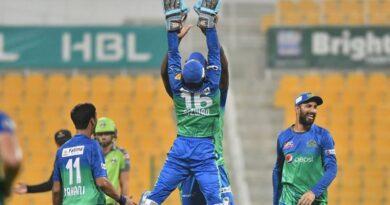 پی ایس ایل 6: ملتان سلطانز نے لاہور قلندرز کے خلاف میچ 80 رنز سے جیت لیا