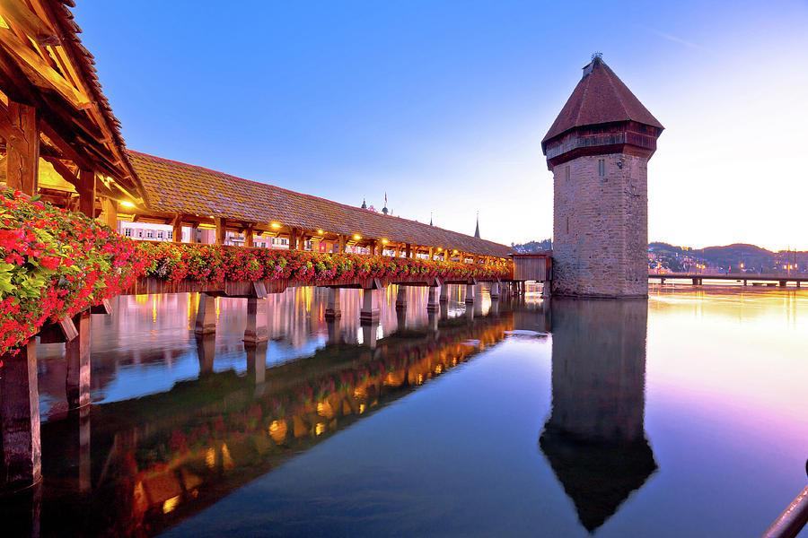 Chapel Bridge & Water Tower, Zurich 2