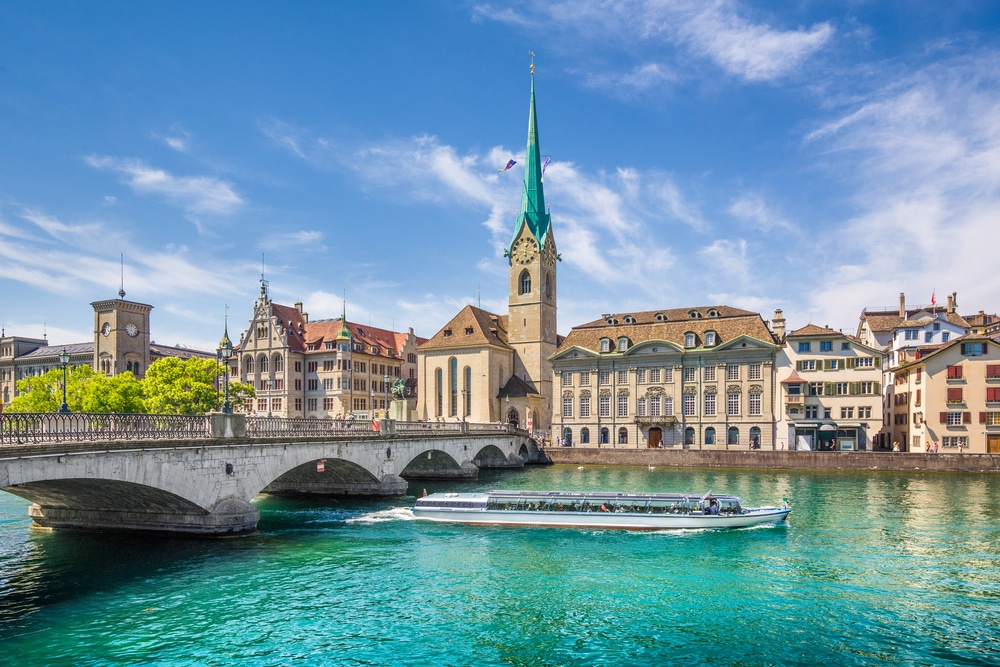 Fraumunster, Zurich