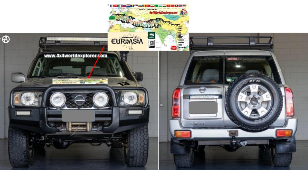 Nissan Front and Back