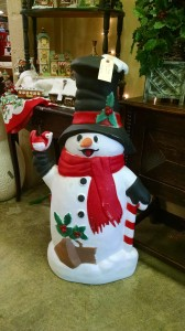 Blow Mold Snowman 2