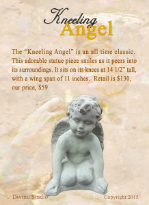 kneeling angel set4