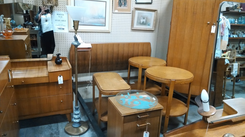 Wardrobe, Chest of Drawers, Dressing Mid Century Tables. bed, accent tables, Relics Antique Mall