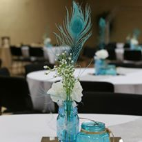 Relics Event Center set for a wedding