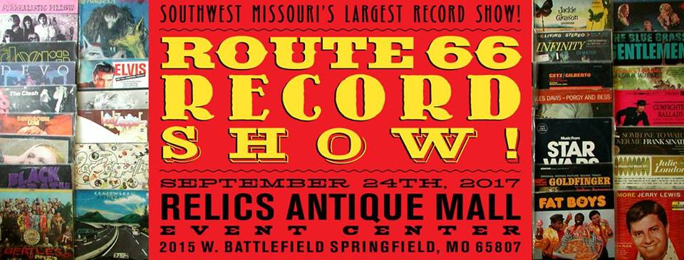 Route 66 Record Show, (Spring) March 31