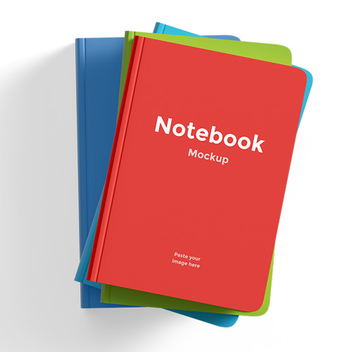 Red small manual book