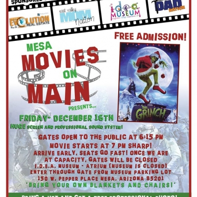 Movies on Main – December Showing