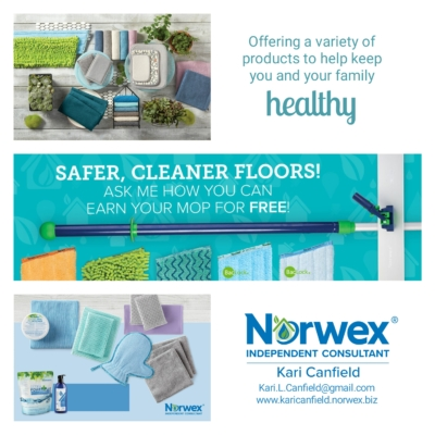 Kari Canfield with Kari Canfield – Norwex Independent Sales Consultant