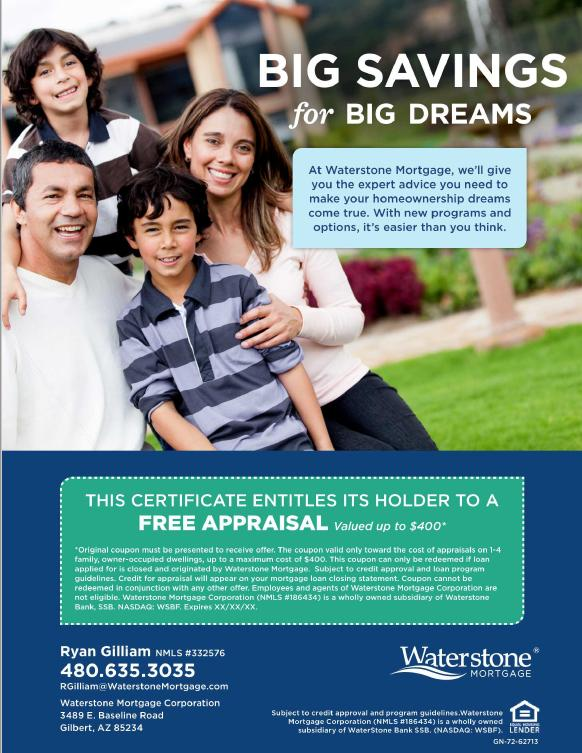 Ryan Gillman with Waterstone Mortgage