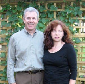 Brambleberry proprietors Chris and Sherry Hardie.