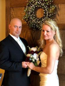 Tim and Miranda eloped on Valentine's Day.